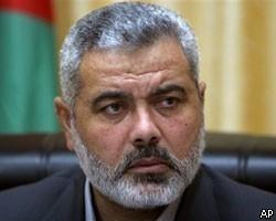 Премьер-министр Исмаил Ханийя обратился к палестинскому народу