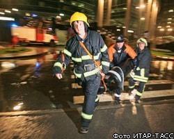 В Тимирязевской академии сгорел 3-й этаж