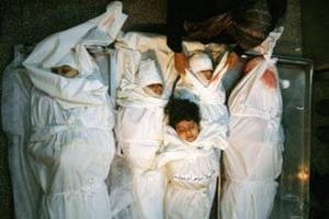 Палестинская семья потеряла сразу пять дочерей, погибших под израильскими бомбами
