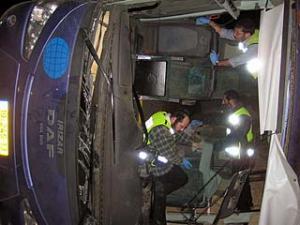 МЧС РФ сообщил имена пассажиров автобуса, попавшего в аварию в израильском государстве