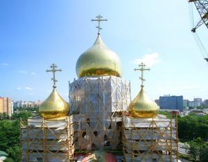 Более 20 новых православных храмов появилось в Москве за год