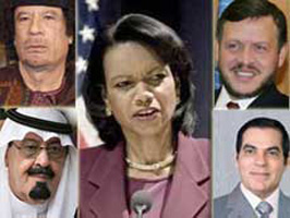 Арабы оказались щедрее к Райс, чем к Бушу