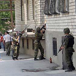 Дагестанская милиция организовала штурм квартиры семьи Александровых за принятие ислама