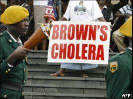 Зимбабве обвиняет в распространении холеры Великобританию