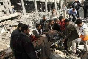 За два дня в Газе погибло 304 палестинца и более 800 получили ранения