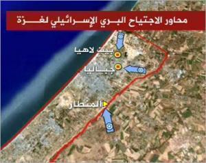 Картина боевых действий в секторе Газа
