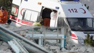 В столице Турции рухнул четырехэтажный дом