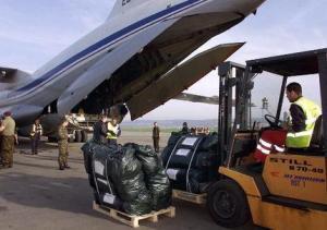 Из России отправились 4 самолета с гуманитарной помощью для жителей Газы