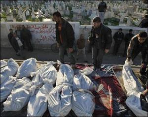 Кровавый день в палестинском Хан-Юнисе унес 135 жизней