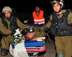 Израильские солдаты, столкнувшись с ожесточенным сопротивлением, отказываются идти вперед