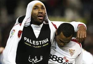Футболист «Севильи» выступил в поддержку Палестины