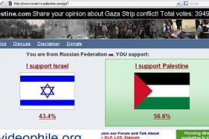 Интернет — за Палестину