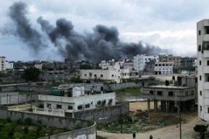 Израильская авиация бомбит правительственные здания Палестинской национальной администрации