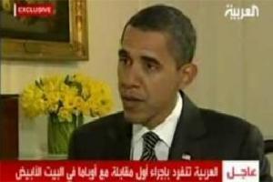 Первое президентское интервью Барак Обама дал арабскому телеканалу