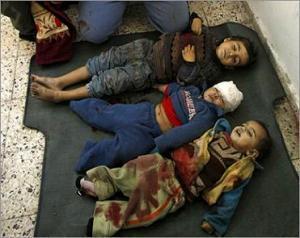 За время войны убито сто детей, разрушено 14 мечетей, обстреляны школы