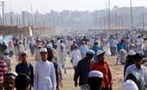 На Всеобщее мусульманское собрание в Бангладеш пришли два миллиона человек