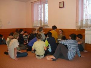 После занятий детей ждали викторины и конкурсы с призами