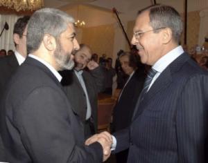 Сергей Лавров и Халед Машааль обсудили ситуацию в секторе Газа