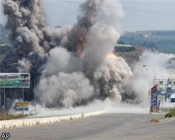 Израильские ВВС бомбят туннели на границе Газы и Египта