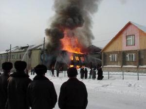 Девятилетняя башкирская девочка спасла от огня малышей