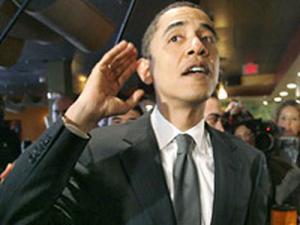 Российская молодежь напутствовала Барака Обаму