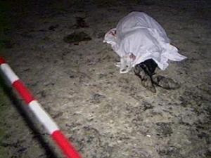 Осматривая окрестности, оперативники обнаружили и тело несчастного