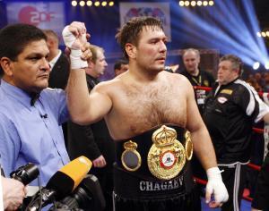 Руслан Чагаев во второй раз защитил чемпионский титул