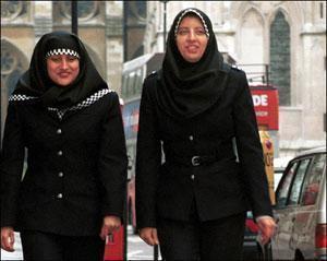 Дания – единственная скандинавская страна, запрещающая полицейским носить хиджаб