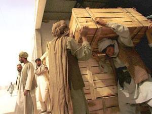 Россия направила гуманитарную помощь в Афганистан