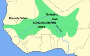 Империя Сонгаи в эпоху расцвета 1462-1591 гг. wikipedia.org