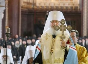 Кирилл возведен на патриарший престол