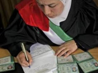 В Палестине появились женщины-судьи