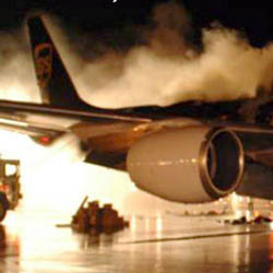 В Египте загорелся украинский самолет, пять человек погибли