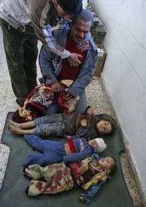 Газа: ритуальное убийство детей