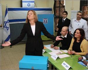 Выборы в Кнессет: Ливни побеждает Нетаньяху, арабские партии поделили 10 мандатов