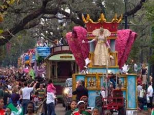 Масленичный карнавал в Новом Орлеане окончился стрельбой