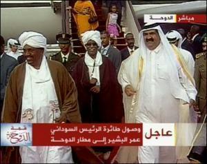 Президент Судана прибыл в Катар