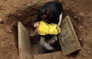 За время израильской операции погибло около 300 детей