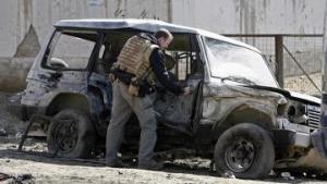 Талибы сожгли натовский конвой