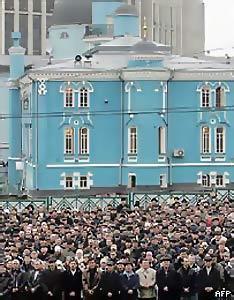 Рамзан Кадыров: Никаких препятствий для строительства мечети в Москве не существует