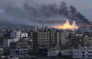 Газа во время израильского нападения