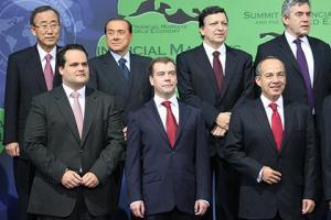 """Президент РФ на саммите """"Большой двадцатки"""""""