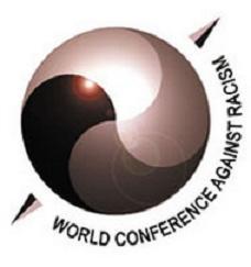 Логотип Конференции ООН по борьбе с расизмом