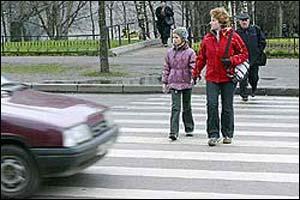 Нарушителей прав пешеходов будут штрафовать на 1 тысячу рублей
