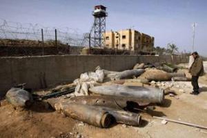 Невзорвавшиеся изарильские бомбы в секторе Газа