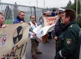 Товарный состав из Германии с грузом урана идет в Россию