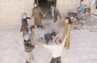 Празднование пасхи в Йемене