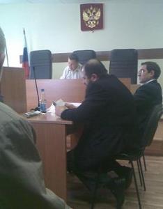 Асламбек Эжаев - на процессе
