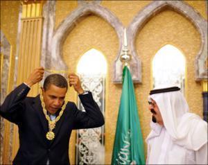 После совещания в Эр-Рияде Обама прибыл в Каир