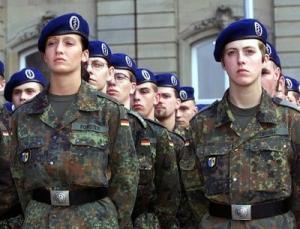 7% служащих в Бундесвере составляют женщины